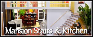 PAGE ICONS LONG - Dio Tut - Mansion Stairs & Kitchen