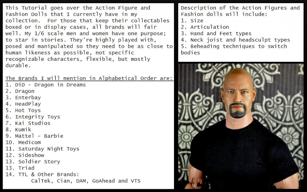 Tutorial - Action Figure and Fashion Dolls 02