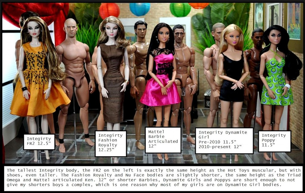 Tutorial - Action Figure and Fashion Dolls 04