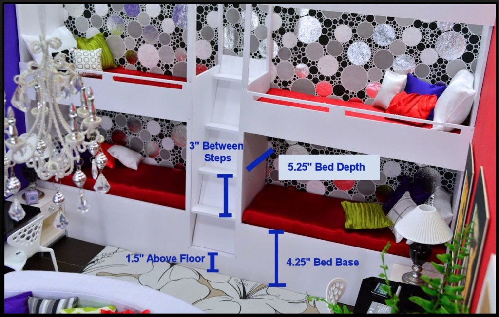 Tutorial - Bunk Bed Wall 04