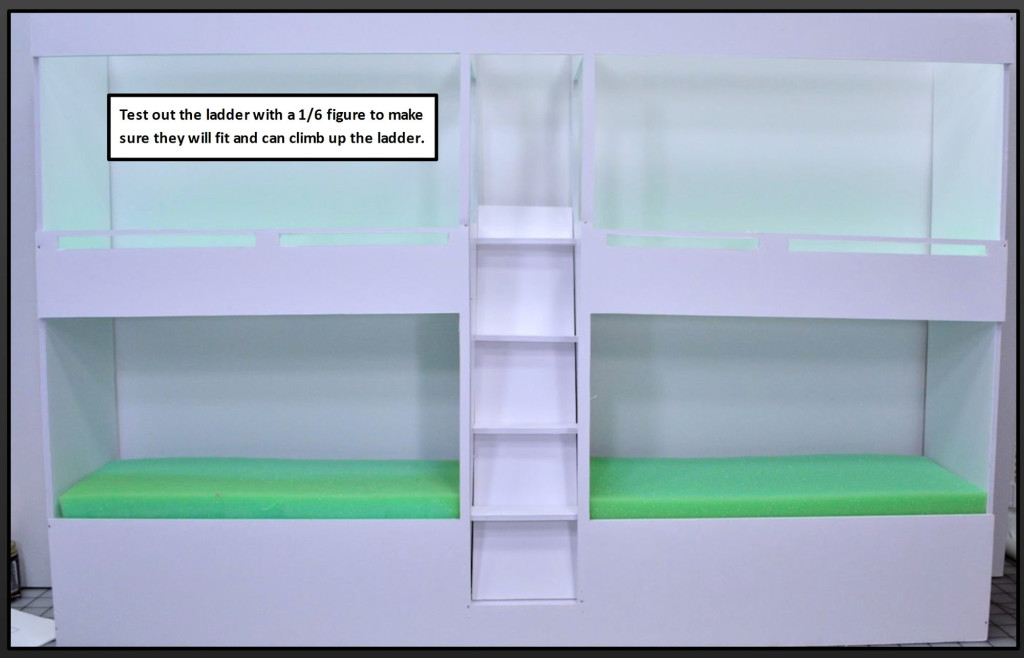 Tutorial - Bunk Bed Wall 21