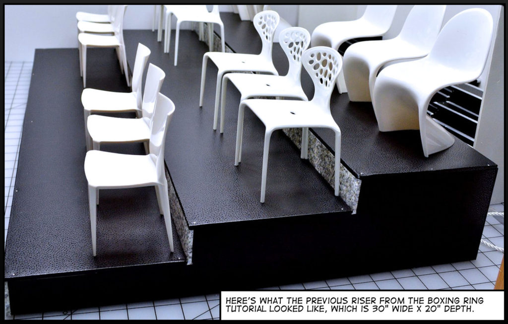 Tutorial - Stage and Theater Seats 04